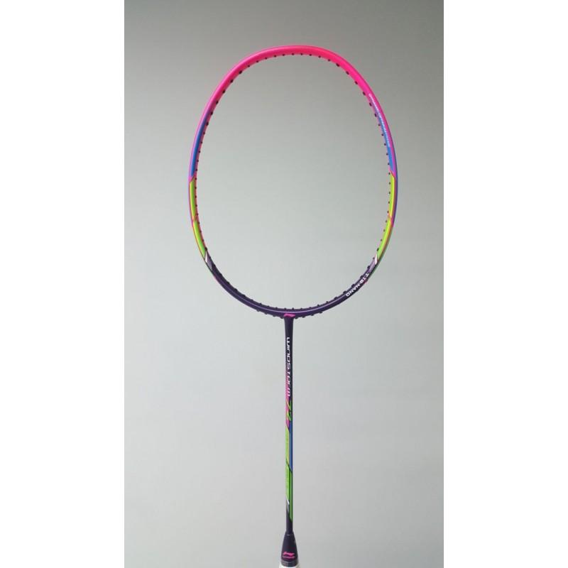 Li Ning WS72 Purple/Pink Windstorm 72 Badminton Racquet AYPM198-4