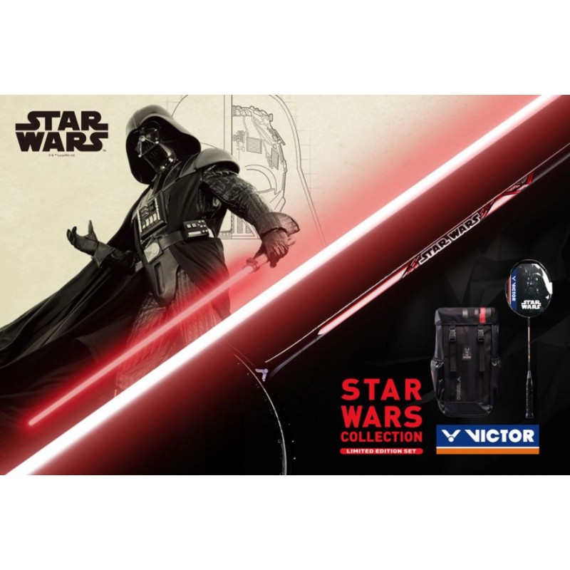 Victor x Star Wars World Limited Racquet + Backpack Combo Set