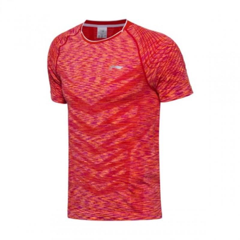 Li Ning 2017 China Team China Open Game Shirt AAYM139-1