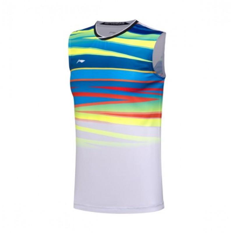Li Ning 2017 China Team World Championship Sleeveless Shirt AVSM101-1