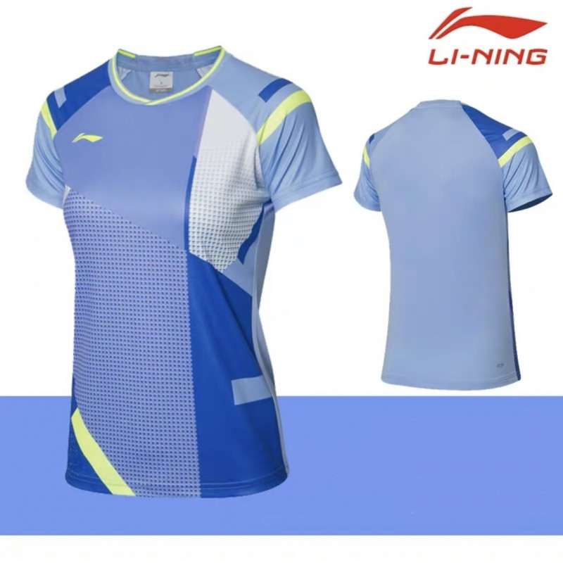 Li Ning AAYR012 Ladies Badminton Game Shirt