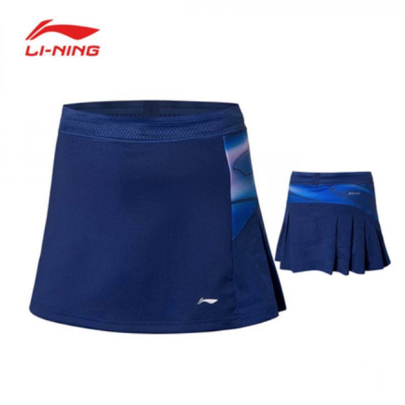 Li Ning China Team Sudirman Cup Ladies Game Skirt ASKP072-1
