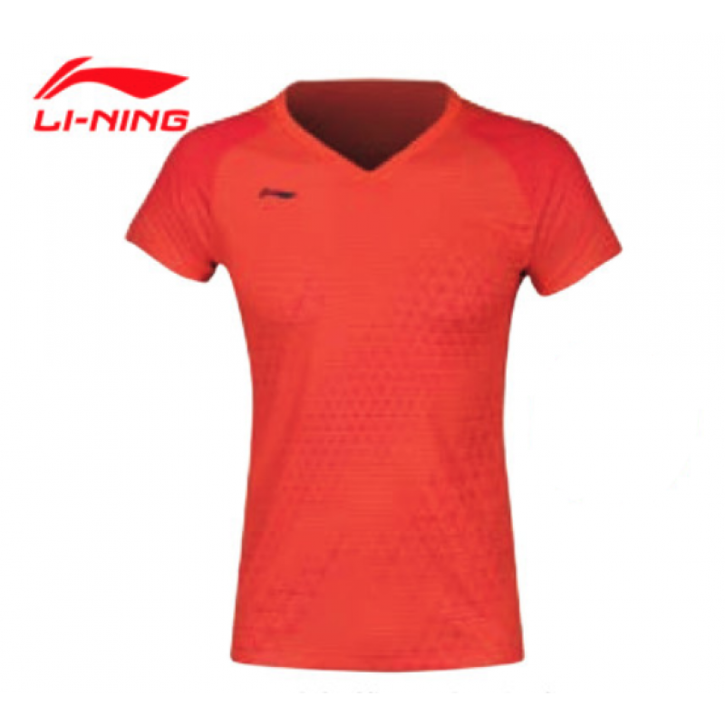 Li Ning AAYQ002-OR All England Ladies Take Down Game Shirt