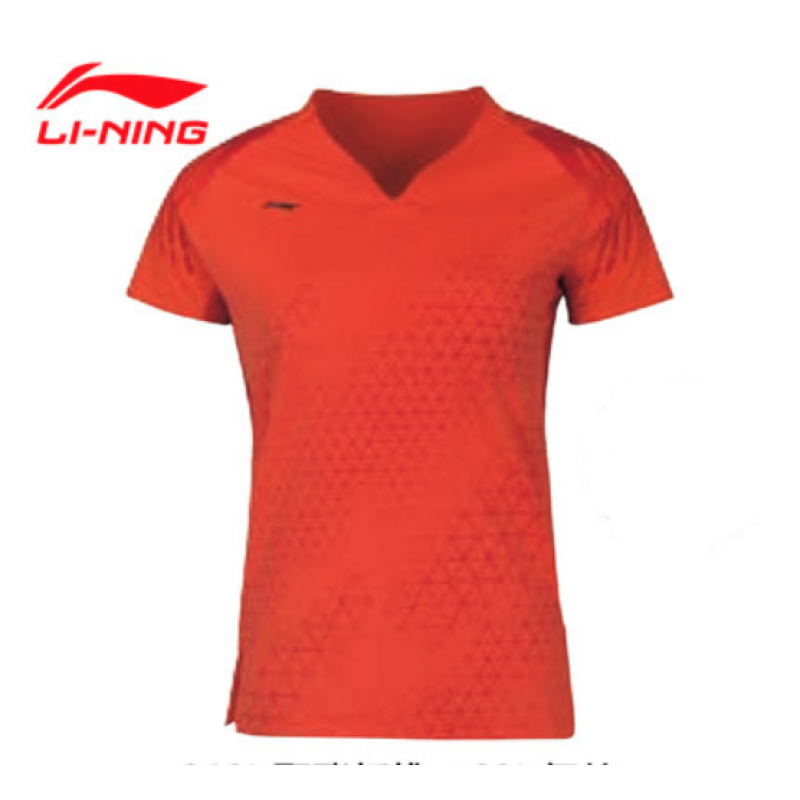 Li Ning AAYQ004-OR All England Ladies Official Game Shirt