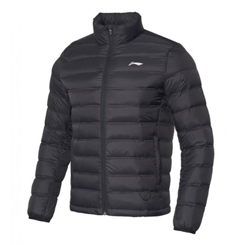 Li Ning AYMP127-BK Temperature Adjustable Down Jacket