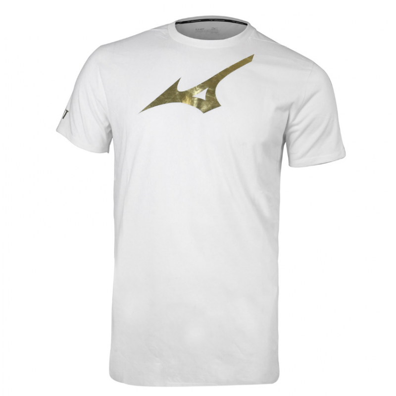Mizuno K2MA86A4-W Cotton Unisex Training T-Shirt