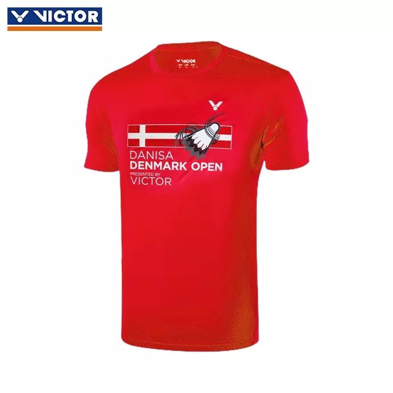 Victor T-80068D 2018 Denmark Open Training T-Shirt