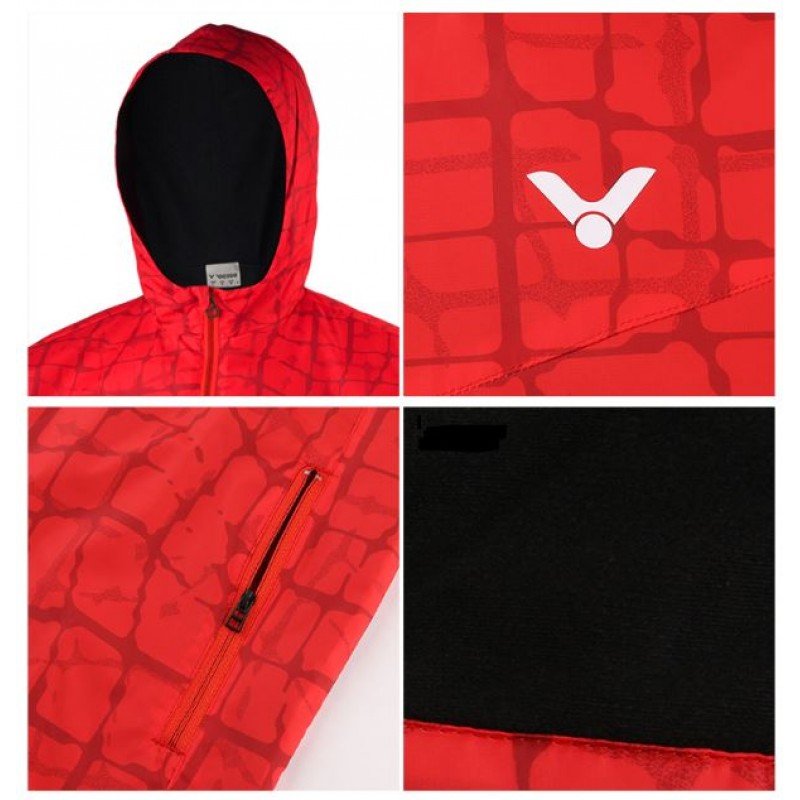 Victor J-85605C Unisex Warm Up Jacket