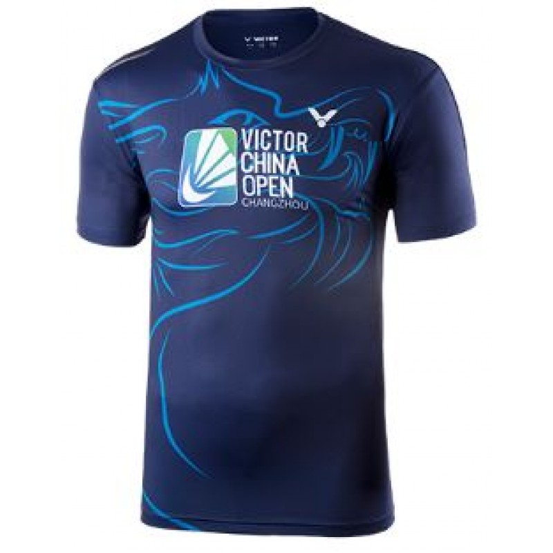 Victor T-80080B 2018 China Open Training T-Shirt