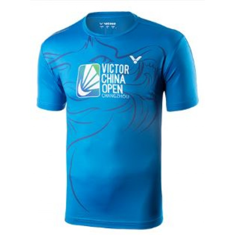 Victor T-80080F 2018 China Open Training T-Shirt