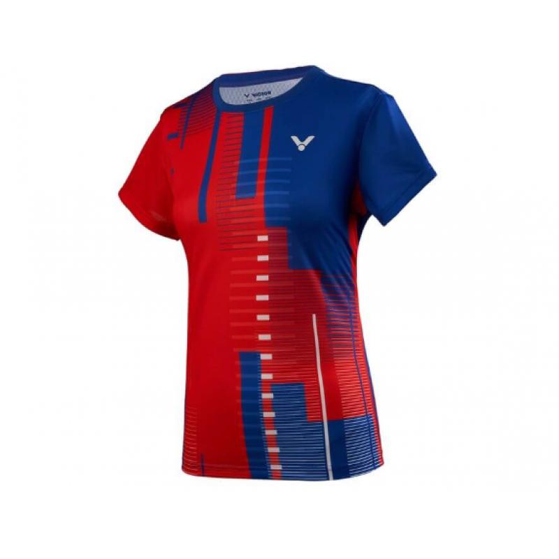 Victor T-96000TD F Malaysia Team Ladies Take Down Game Shirt