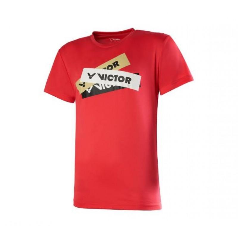 Victor T-00012D Multi Logo Tee