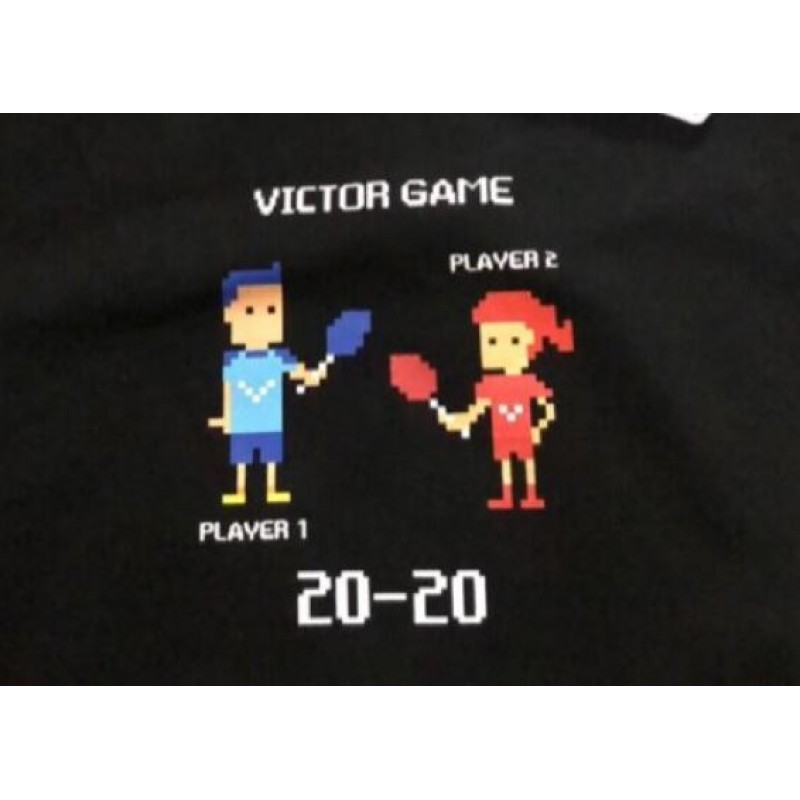Victor Unisex Electric Game Cartoon Training T-Shirt