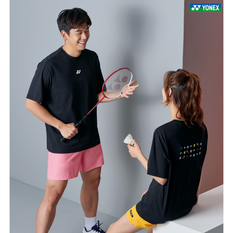 Yonex Unisex Small Badminton Icon Training T-shirt (Korean Version)
