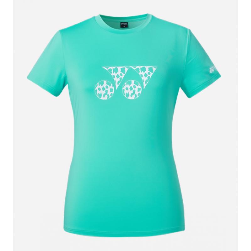 """Yonex Logo """"Cow Pattern"""" Ladies Training T-Shirt (Korean Version)"""