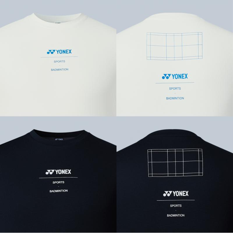 Yonex Unisex Badminton Court Cotton T-shirt (Korean Version)