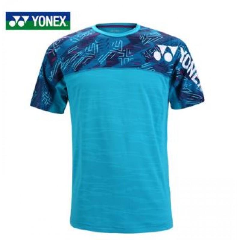 Yonex 115288BCR-LB Unisex Game Shirt