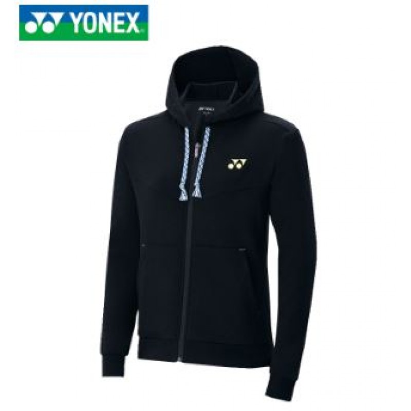 Yonex 130327BCR-BK Unisex Heat Hoodie Jacket