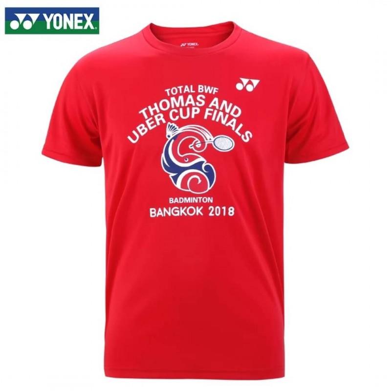 Yonex 2018 Thomas & Uber Cup Final T-Shirt 18070-RD