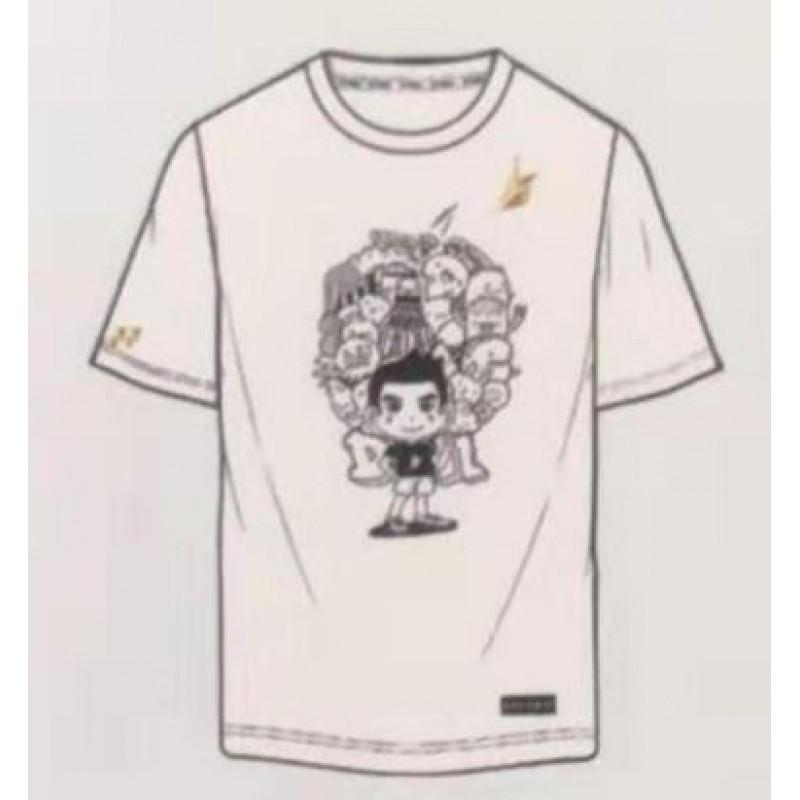 Yonex 10019LD-WH Lin Dan Collection Training T-Shirt