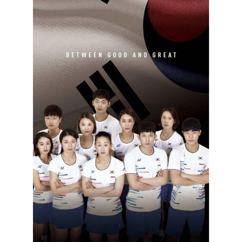 Yonex 20466-WH  Japan & Korea Team Ladies Game Shirt