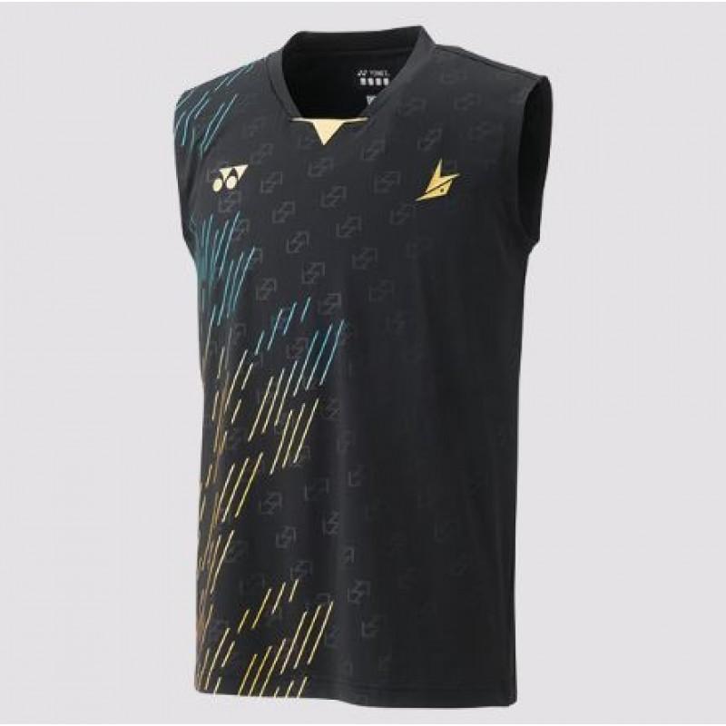 Yonex 10322LD-BK Lin Dan Collection Sleeveless Game Shirt