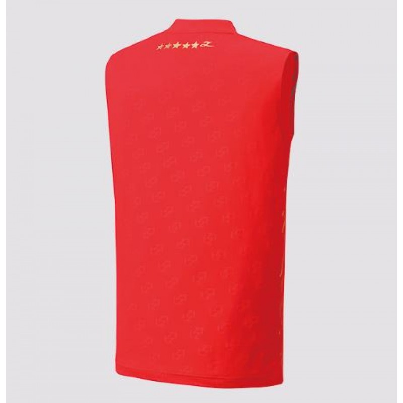 Yonex 10322LD-RD Lin Dan Collection Sleeveless Game Shirt