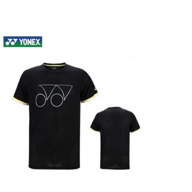 Yonex 115219BCR-BK Unisex Logo T-Shirt