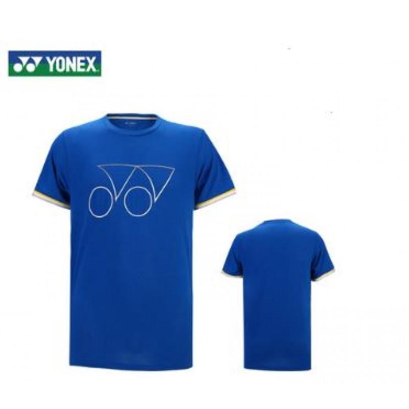 Yonex 115219BCR-BL Unisex Logo T-Shirt