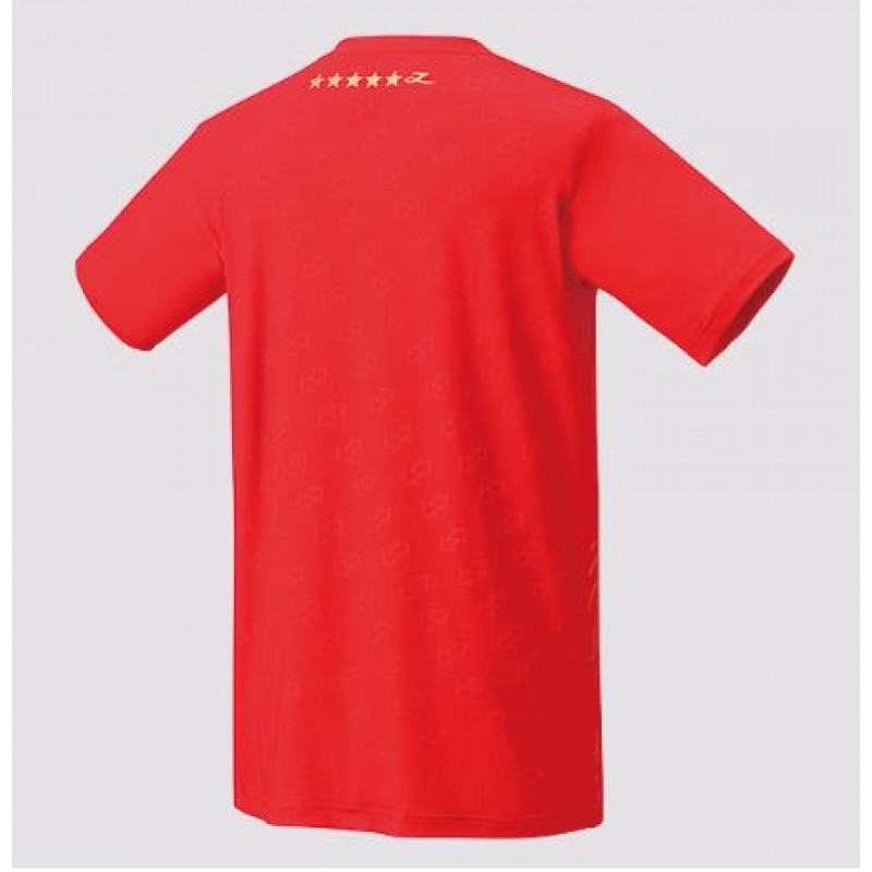 Yonex 16419LD-RD Lin Dan Collection Take Down Game Shirt