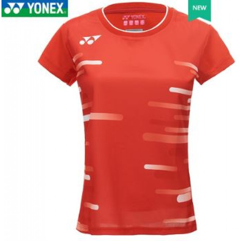 Yonex 20466-RD  Japan & Korea Team Ladies Game Shirt