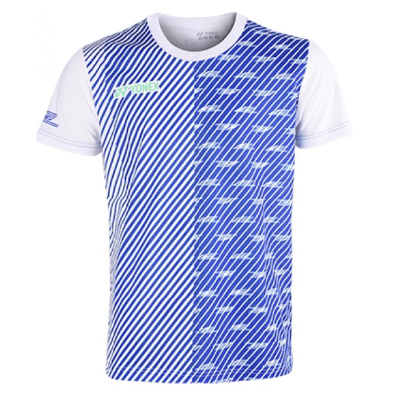 Yonex 16420LCWCR-BL Lee Chong Wei Training T-Shirt