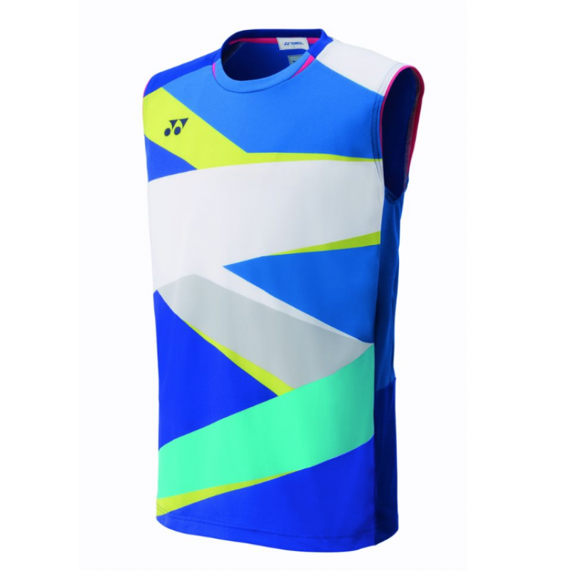 Yonex 10310EX-786 Japan Team Men Sleeveless Game Shirt
