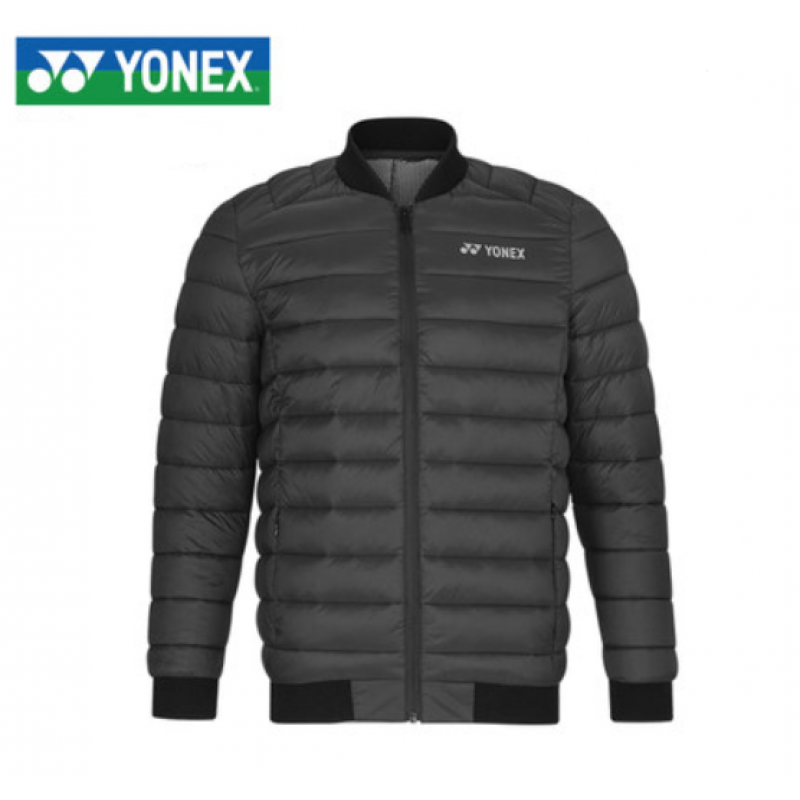 Yonex 190019BCR-BK Men Down Jacket