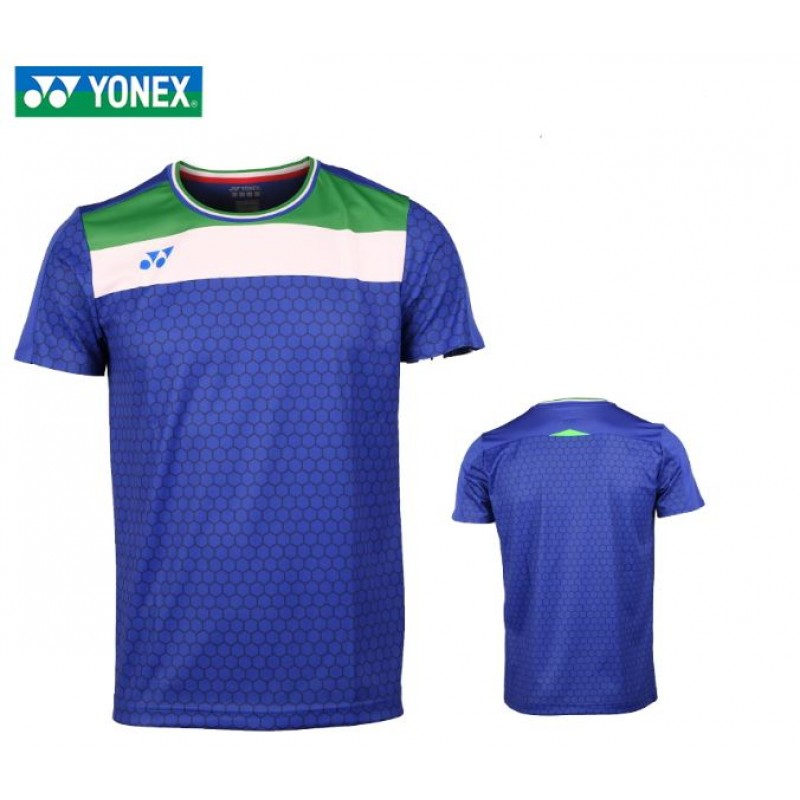 Yonex 10330EX-BL Men Game Shirt