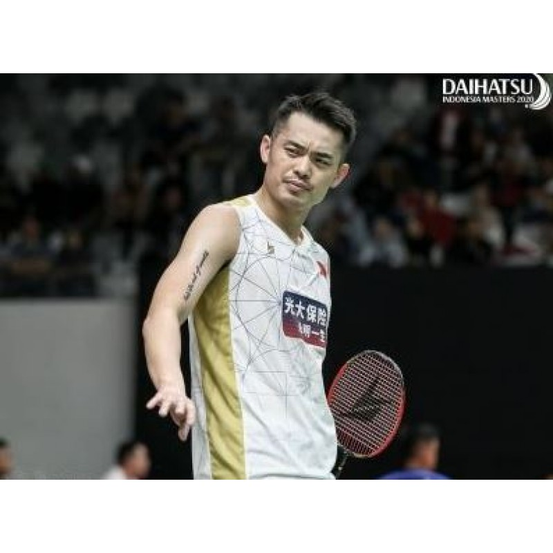 Yonex 10333YX-WH Lin Dan Collection Game Sleeveless Shirt (Made in Japan)