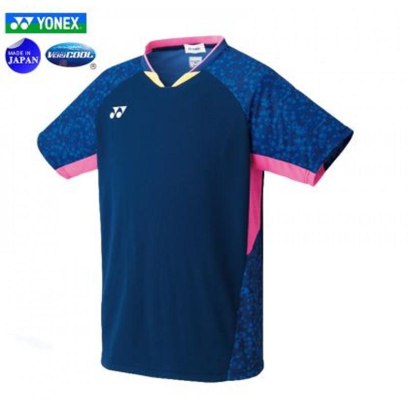 Yonex 10374B Men Game Shirt (Made in Japan)