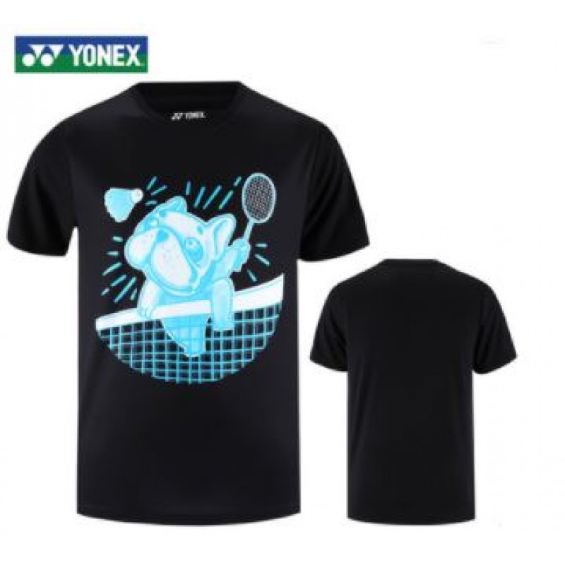Yonex 115310BCR-BK Men Training T-Shirt