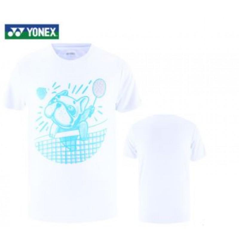 Yonex 115310BCR-WH Men Training T-Shirt