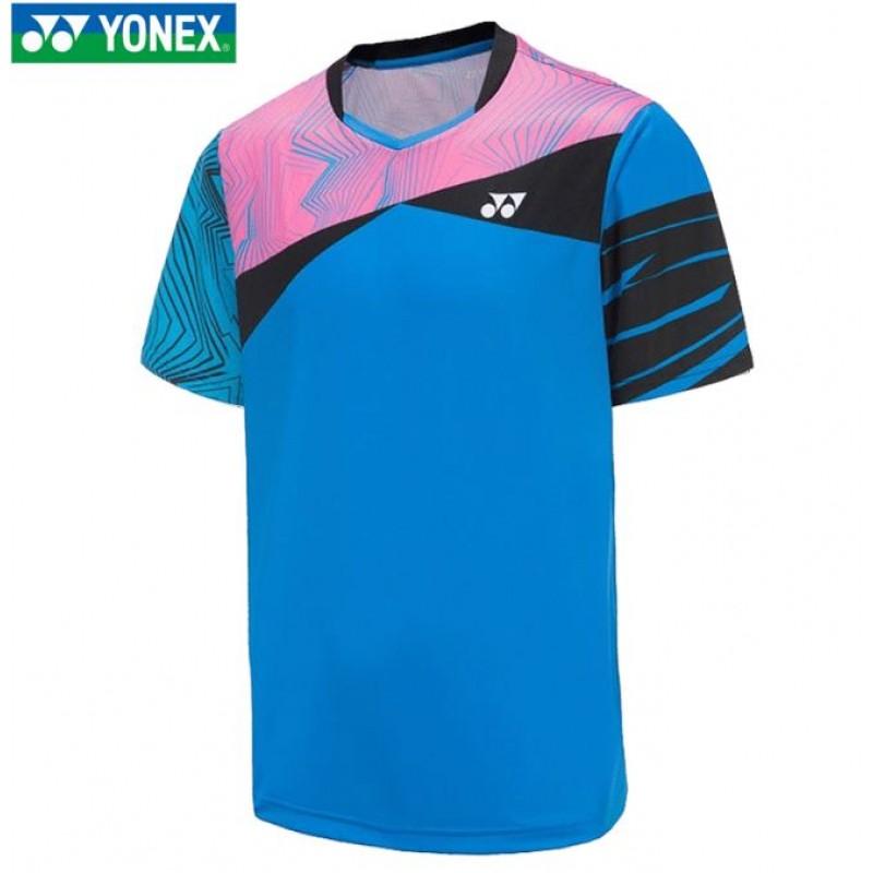 Yonex 110380-BL Men Game Shirt