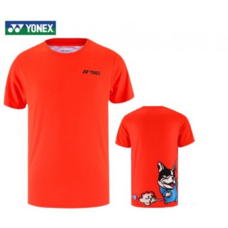 Yonex 115300BCR-OR Men Training T-Shirt