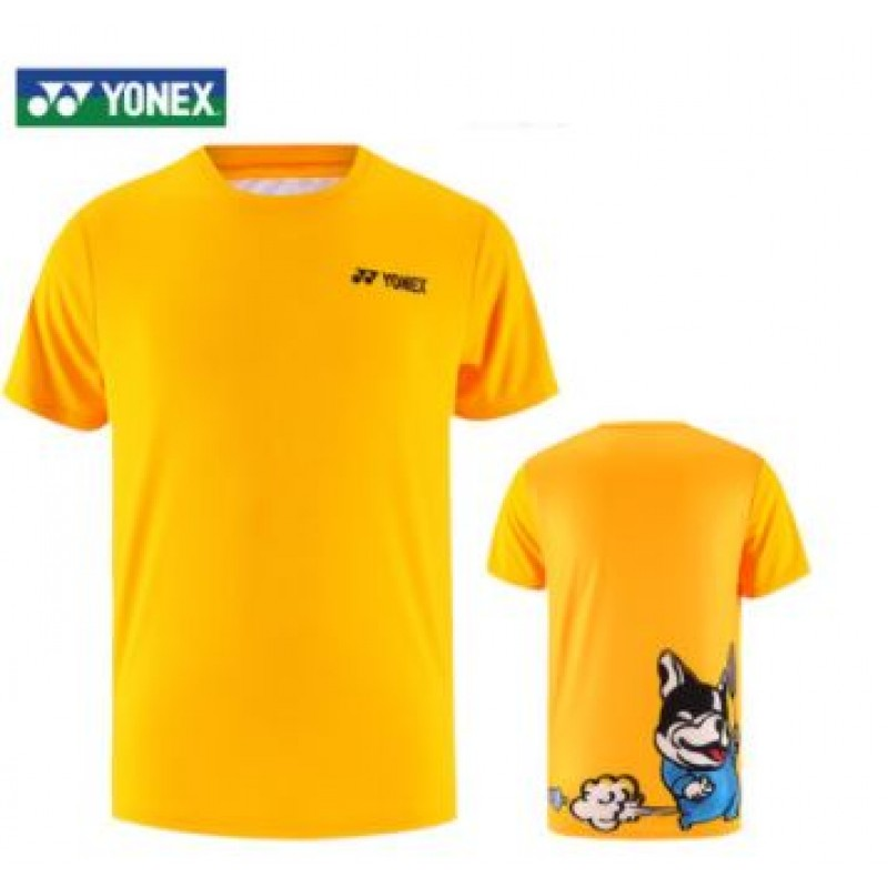 Yonex 115300BCR-YL Men Training T-Shirt