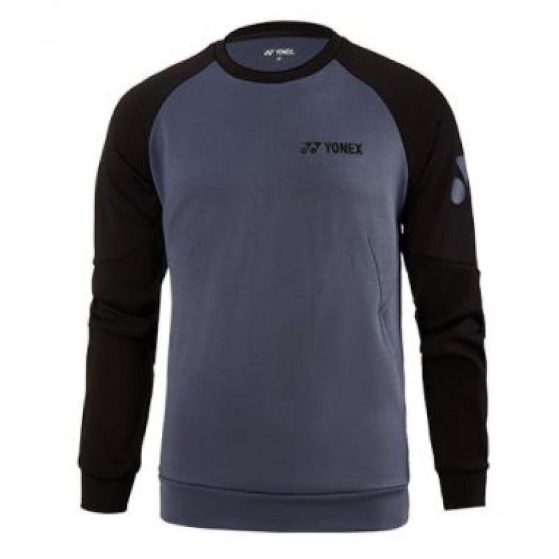 Yonex 130040/230040GY Men Logo Sweatshirt