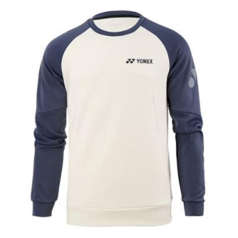 Yonex 130040/230040WH Men Logo Sweatshirt