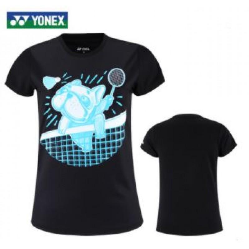 Yonex 215310BCR-BK Ladies Training T-Shirt