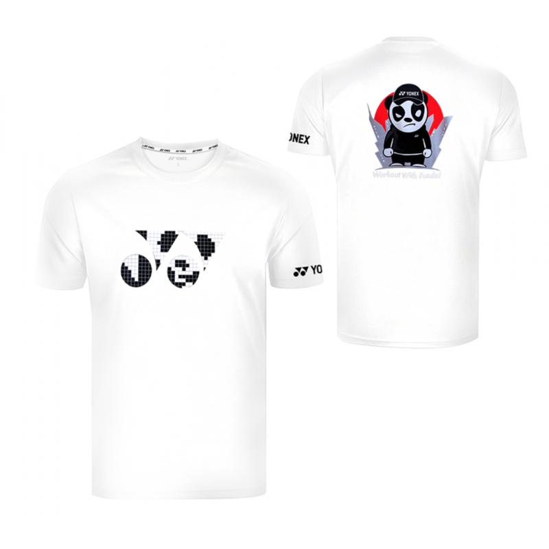 "Yonex 115150BCR ""Work out with Panda"" Men Training T-Shirt"