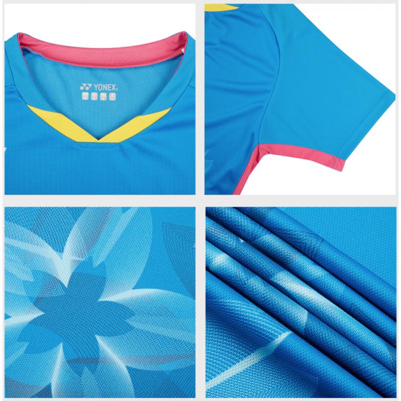 Yonex 10378EX-BL Sakura Patten Men Game Shirt