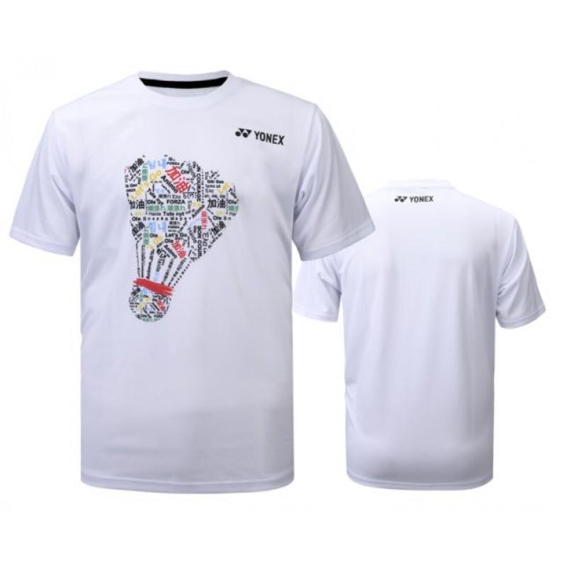 Yonex YOBC0016-WH Unisex Cheering T-Shirt