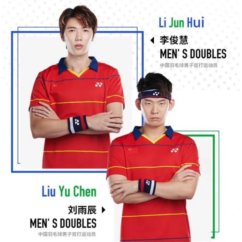 Yonex YOBC1001 Chinese Badminton Team Men Game Shirt