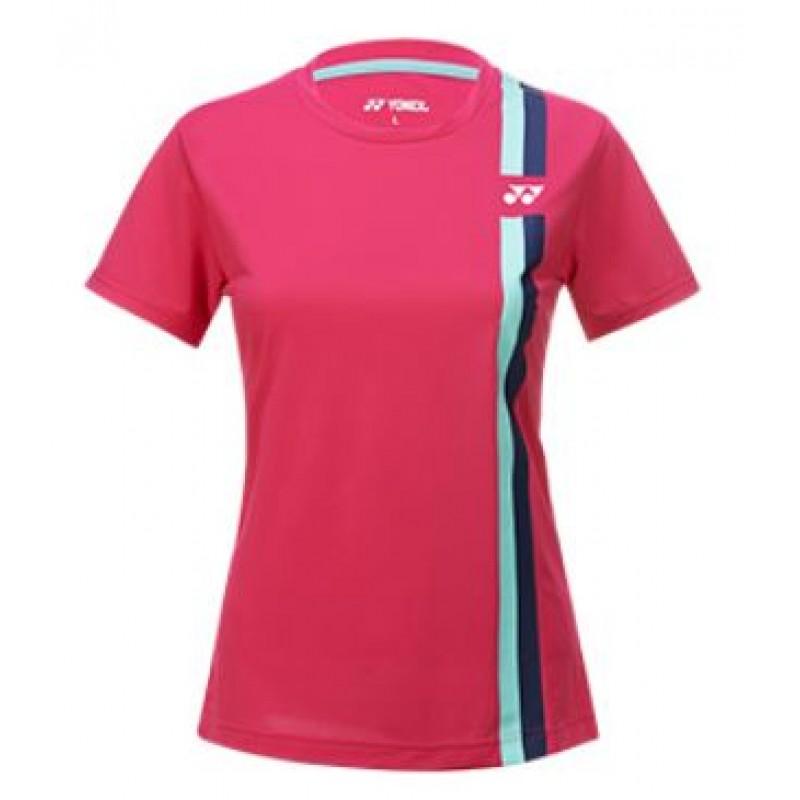 Yonex 215201BCR Double Stripe Ladies Training T-Shirt